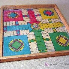 Juegos de mesa: JUEGO DE MESA, PARCHIS Y JUEGO DE LA OCA, FOURNIER ?, 1930S. Lote 24871687