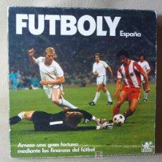 Juegos de mesa: RARO JUEGO DE MESA, FABRICADO POR BORRAS, FUTBOLY ESPAÑA, 1980S. Lote 20802723