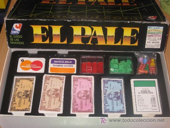 Juego De Mesa El Pale Anos 80 90 Muy Buen Estad Comprar Juegos De