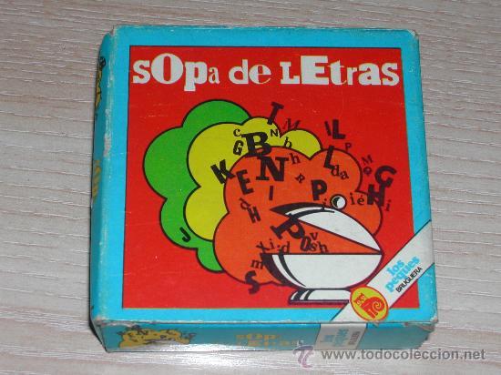 Juego Los Peques De Bruguera Sopa De Le Comprar Juegos De Mesa
