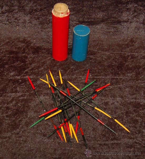 Antiguo Juego De Palillos Chinos Anos 50s Con Comprar Juegos De