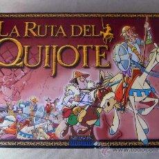 Juegos de mesa: RARO JUEGO DE MESA, LA RUTA DEL QUIJOTE, FABRICADO POR JUEGOS DINOVA. Lote 21424792