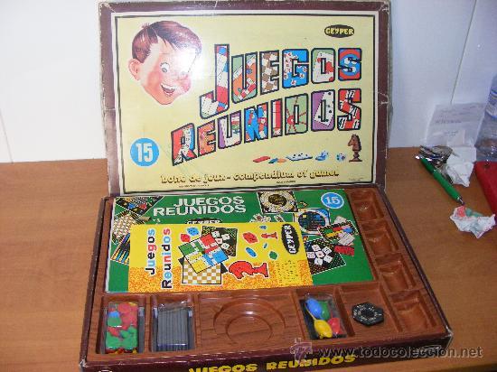 Antiguo Juegos Reunidos Geyper 15 De Los Anos 8 Comprar Juegos De