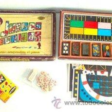 Juegos de mesa: CAJA DE JUEGOS REUNIDOS DE GEYPER. Lote 42334887