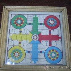 Juegos de mesa: ANTIGUO PARCHIS EN MINIATURA. Lote 21928131