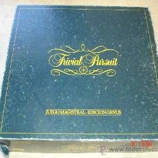 Juegos de mesa: TRIVIAL PURSUIT - JUEGO MAGISTRAL - EDICION GENUS -. Lote 27307568