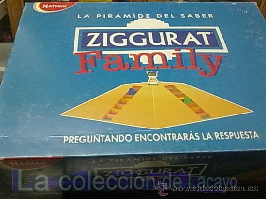 JUEGO DE MESA ZIGGURAT FAMILY DE NATHAN (Juguetes - Juegos - Juegos de Mesa)