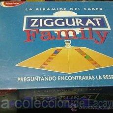 Juegos de mesa: JUEGO DE MESA ZIGGURAT FAMILY DE NATHAN. Lote 22006200