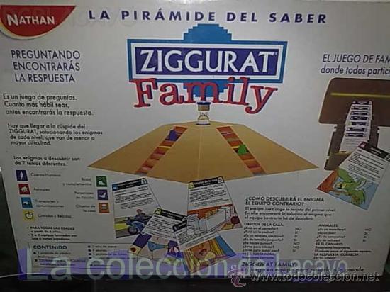 Juegos de mesa: JUEGO DE MESA ZIGGURAT FAMILY DE NATHAN - Foto 3 - 22006200