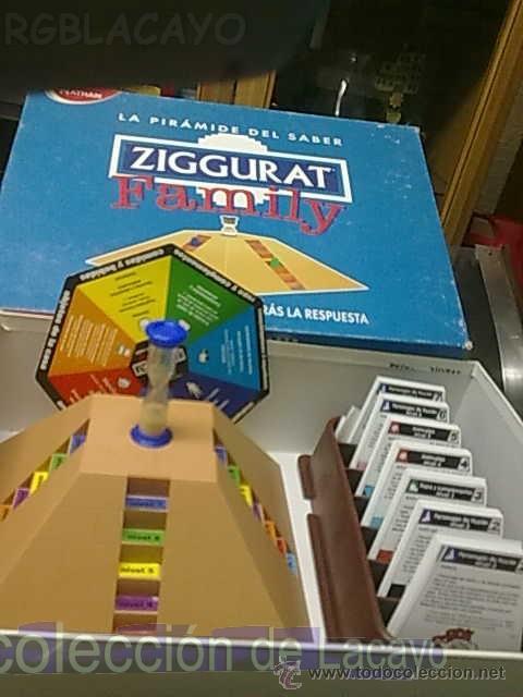 Juegos de mesa: JUEGO DE MESA ZIGGURAT FAMILY DE NATHAN - Foto 4 - 22006200
