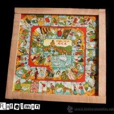 Juegos de mesa: JUEGO DE LA OCA Y PARCHIS - AÑOS 40 - CON DIBUJOS DE POPEYE, MINNIE MOUSE , BETTY BOOP - RARO. Lote 137837878