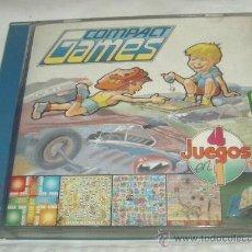 Juegos de mesa: COMPACT GAMES Nº 2,DE CHICOS,4 JUEGOS EN 1,CAJA ORIGINAL,A ESTRENAR,LOS AÑOS 70. Lote 22239718