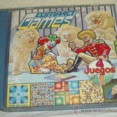 Juegos de mesa: COMPACT GAMES Nº1,DE CHICOS,4 JUEGOS EN 1,CAJA ORIGINAL,A ESTRENAR,DE AÑOS 70. Lote 22239849