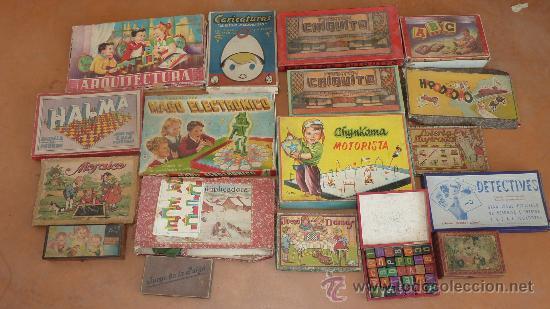 Gran Lote De 18 Juegos De Mesa Antiguos De Los Comprar Juegos De