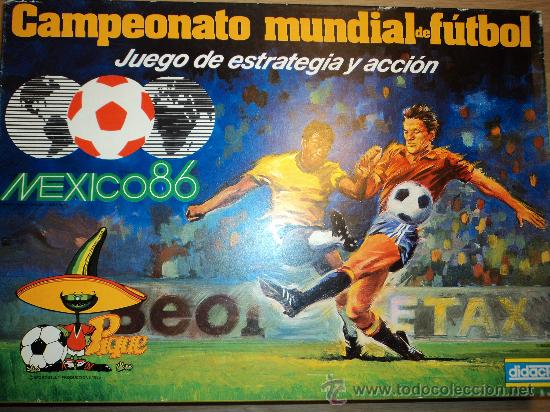 Campeonato Mundial De Futbol Mexico 86 De Dida Comprar Juegos De