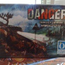 Juegos de mesa: DANGER JUEGO DE MESA ALEMAN,REGLAS ESPAÑOL QUEEN GAMES PRECINTADO. Lote 22573494