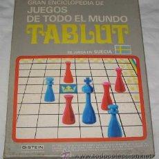 Juegos de mesa - GRAN ENCICLOPEDIA DE JUEGOS DE TODO EL MUNDO, TABLUT, DE DISTEIN - 22623567