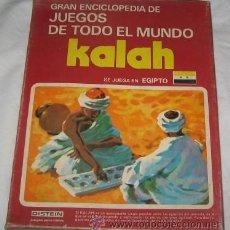 Juegos de mesa - GRAN ENCICLOPEDIA DE JUEGOS DE TODO EL MUNDO, KALAH, DE DISTEIN - 22623670