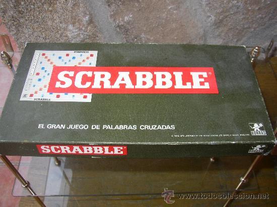 Scrabble Gran Juego De Las Palabras Cruzadas Comprar Juegos De