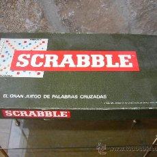 Juegos de mesa: SCRABBLE. GRAN JUEGO DE LAS PALABRAS CRUZADAS. REFERENCIA 7901 DE BORRAS. Lote 26647798