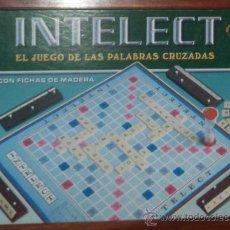 Juegos de mesa: DIVERTIDO JUEGO INTELECT. EL JUEGO DE LAS PALABRAS CRUZADAS. COMPLETO. Lote 26602423