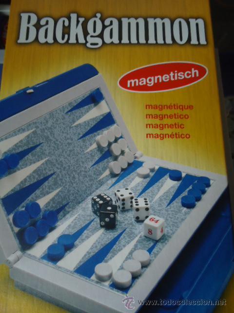 JUEGO DE MESA BACKGAMMON MAGNETICO NUEVO SIN DESPRECINTAR (Juguetes - Juegos - Juegos de Mesa)