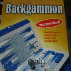Juegos de mesa: JUEGO DE MESA BACKGAMMON MAGNETICO NUEVO SIN DESPRECINTAR. Lote 27110023
