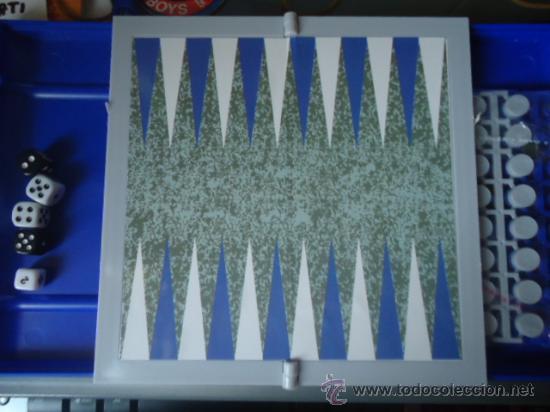 Juegos de mesa: JUEGO DE MESA BACKGAMMON MAGNETICO NUEVO SIN DESPRECINTAR - Foto 2 - 27110023
