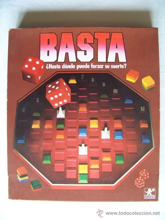 Juego De Mesa Basta De Borras Comprar Juegos De Mesa Antiguos En