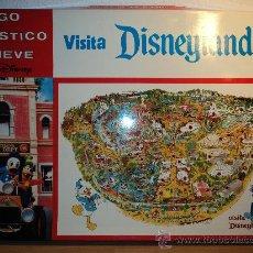 Juegos de mesa: VISITA DISNEYLANDIA, JUEGO DE PLÁSTICO EN RELIEVE.. Lote 27376419