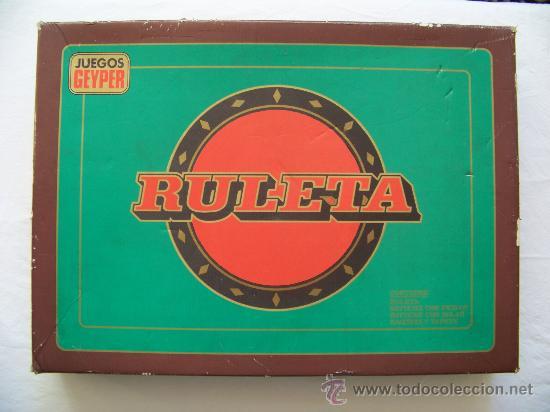 Ruleta Juego Geyper Comprar Juegos De Mesa Antiguos En