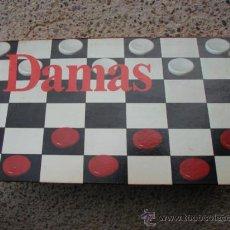 Juegos de mesa: JUEGO DE DAMAS - BORRAS. Lote 27610688