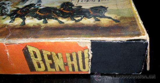 Juegos de mesa: ANTIGUO JUEGO DE CARRERAS DE CUADRIGAS - BEN-HUR - JUGUETES BORRAS MATARO - COMPLETO Y ORIGINAL - AÑ - Foto 2 - 26340941