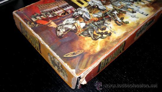 Juegos de mesa: ANTIGUO JUEGO DE CARRERAS DE CUADRIGAS - BEN-HUR - JUGUETES BORRAS MATARO - COMPLETO Y ORIGINAL - AÑ - Foto 3 - 26340941