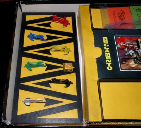 Juegos de mesa: ANTIGUO JUEGO DE CARRERAS DE CUADRIGAS - BEN-HUR - JUGUETES BORRAS MATARO - COMPLETO Y ORIGINAL - AÑ - Foto 7 - 26340941