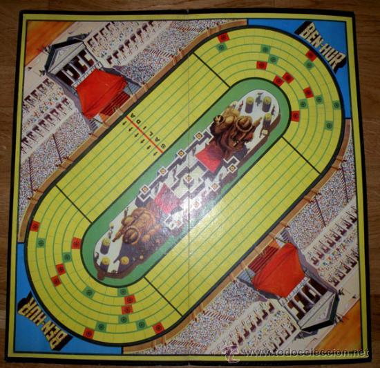 Juegos de mesa: ANTIGUO JUEGO DE CARRERAS DE CUADRIGAS - BEN-HUR - JUGUETES BORRAS MATARO - COMPLETO Y ORIGINAL - AÑ - Foto 10 - 26340941