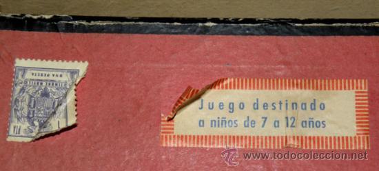 Juegos de mesa: ANTIGUO JUEGO DE CARRERAS DE CUADRIGAS - BEN-HUR - JUGUETES BORRAS MATARO - COMPLETO Y ORIGINAL - AÑ - Foto 12 - 26340941