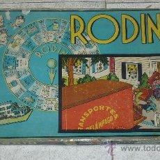 Juegos de mesa: ANTIGUO JUEGO RODIN. AÑOS 50S. PARECE COMPLETO? USADO.. Lote 219496635