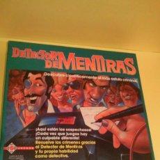 Juegos de mesa: JUEGO DE MESA DETECTOR DE MENTIRAS DE MATTEL DE 1989. Lote 26929969