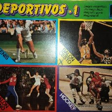 Juegos de mesa: DEPORTIVOS 1, BALONCESTO, MARCA RIMA.. Lote 27457963