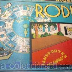 Juegos de mesa: ANTIGUO JUEGO RODIN. Lote 25484604