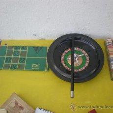 Juegos de mesa: RULETA PARA JUGAR COMPLETO. Lote 25615206