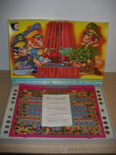 Antiguo Juego De Mesa Alto Comando Estrategia Comprar Juegos De