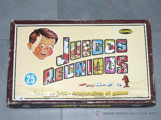 Juegos Reunidos Juego De Mesa Geyper Anos 80 A Comprar Juegos De