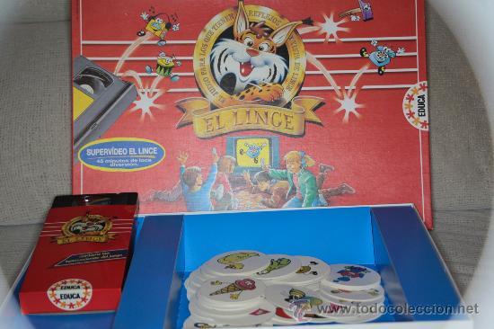 EL LINCE (Juguetes - Juegos - Juegos de Mesa)