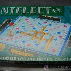Juegos de mesa: INTELECT LUXE EL JUEGO DE LAS PALABRAS CRUZADAS FALOMIR JUEGOS EN CAJA. Lote 26742588