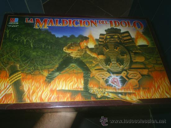 Juegos de mesa: ANTIGUO JUEGO 3D DE LA CASA MB LA MALDICION DEL IDOLO MAGICO ¡¡¡¡ MUY DIFICIL!!!!!! precintado - Foto 2 - 91580960