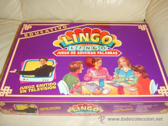 Lingo Juego De Adivinar Palabras Comprar Juegos De Mesa Antiguos