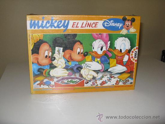 MICHEY EL LINCE DE EDUCA (Juguetes - Juegos - Juegos de Mesa)