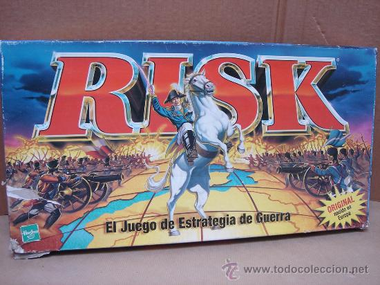 Juego De Mesa Hasbro Risk Industria Argenti Buy Old Board